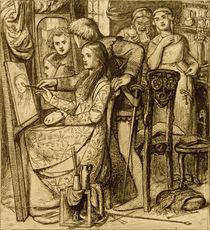 D.G.Rossetti, Spiegel der Liebe von AKG  Images