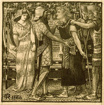 Rossetti / Joseph before Potiphar by AKG  Images