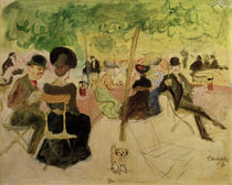 A.Macke / Beer Garden / 1907 by AKG  Images