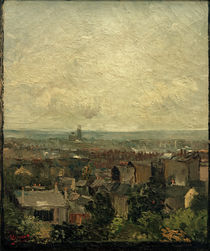 V. van Gogh, View of Paris rooftops by AKG  Images