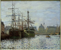 C.Monet, The port basin of Le Havre by AKG  Images