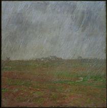 C.Monet, Regen auf der Belle-Ile von AKG  Images