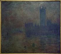 C.Monet, Parliament, fog by AKG  Images