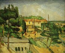 P.Cézanne, Viadukt bei L'Estaque von AKG  Images