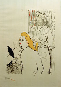 Toulouse-Lautrec, La Coiffure, Pogramm by AKG  Images
