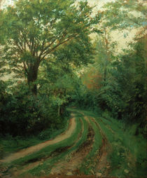 G.Caillebotte, Weg in der Normandie by AKG  Images