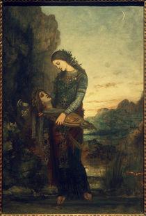 G.Moreau, Junge Thrakerin mit dem Haupt des Orpheus by AKG  Images