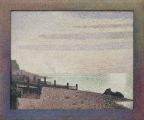 G.Seurat, Honfleur, un soir, embouchure de la Seine by AKG  Images