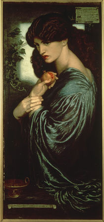 Dante Gabriel Rossetti, Proserpina 1873 by AKG  Images