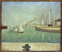 Seurat / Harbour entrance / 1888 by AKG  Images