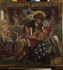 Rossetti / Marriage of George and Sabra by AKG  Images