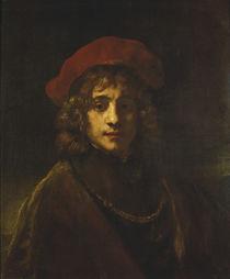 Rembrandt, Titus /  um 1657 by AKG  Images