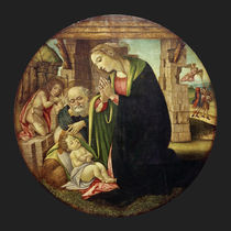 Workshop of Botticelli, Adoration of the Christ Child by AKG  Images
