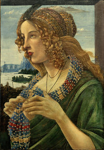 S.Botticelli / Allegorical Portrait of a Woman by AKG  Images