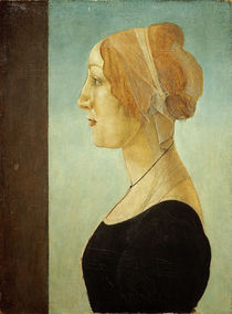 S.Botticelli / Portrait of a Woman by AKG  Images