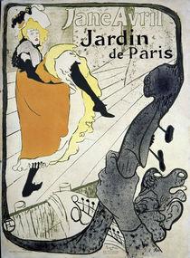 Toulouse-Lautrec, Jane Avril / Plakat/1893 von AKG  Images