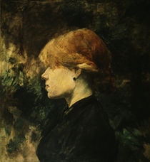 Toulouse-Lautrec / Red-haired woman by AKG  Images