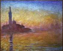 C.Monet, Dämmerung in Venedig von AKG  Images