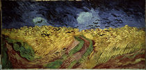 Van Gogh / Corn-field with Crows / 1890 by AKG  Images