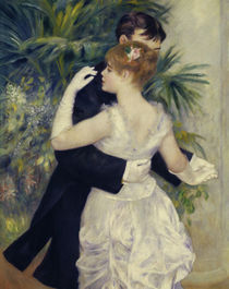 A.Renoir / City dance / 1883 / Detail by AKG  Images