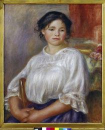 A.Renoir, Sitzendes junges Mädchen von AKG  Images