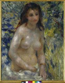 Renoir / Torse de femme au soleil /c. 1876 by AKG  Images