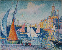 Signac / The harbour of St. Tropez / 1893 by AKG  Images