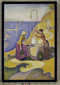 P.Signac / Women at the well / 1892 by AKG  Images