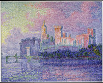 Papal Palace Avignon / Signac / 1900 by AKG  Images