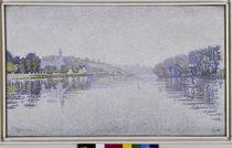 P.Signac, Bords de riviere von AKG  Images