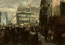 A. v. Menzel, Pariser Wochentag/1869 von AKG  Images