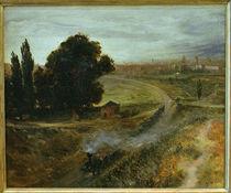 Menzel / Berlin-Potsdam Railway / 1847 by AKG  Images