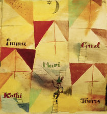 P.Klee, The Bavarian Don Giovanni /1919 by AKG  Images