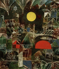 P.Klee, Mondauf-Sonnenuntergang, 1919 von AKG  Images