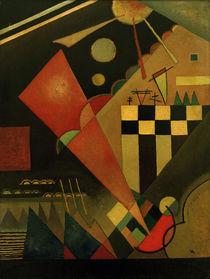W.Kandinsky, Scharfruhiges Rosa von AKG  Images