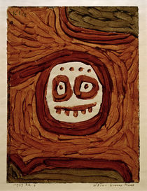 Paul Klee, White-Brown Mask / 1939 by AKG  Images
