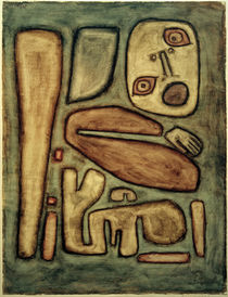 Paul Klee, Outbreak of Fear III / 1939 by AKG  Images