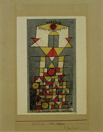 P.Klee, Weimar, Bauhaus Exhib. 1923 / Litho. by AKG  Images