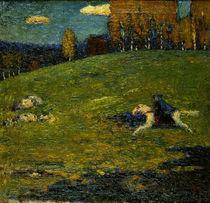 W.Kandinsky / Der blaue Reiter/ 1903 von AKG  Images