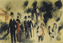 A.Macke / People next to Herons by AKG  Images