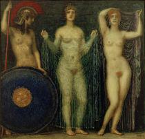 F. v. Stuck, Athena, Hera und Aphrodite von AKG  Images
