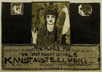 F. v. Stuck / Secession Exhib. Poster/1897 by AKG  Images