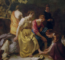 Vermeer / Diana w. her companions/c. 1655/56 by AKG  Images
