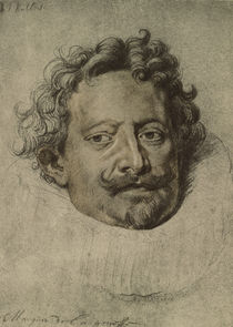 Marquis de Leganès / Drawing by Rubens by AKG  Images