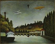 H.Rousseau, View of the Pont de Sèvres by AKG  Images