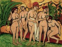 E.L.Kirchner, Frauen im Bade von AKG  Images