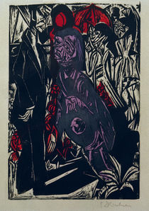 Chamisso, Peter Schlemihl / E.L.Kirchner by AKG  Images