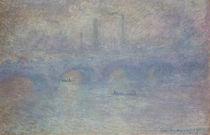 Monet / Waterloo Bridge, overcast Weath. by AKG  Images