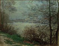 C.Monet, Seine-Ufer bei Grande-Jatte von AKG  Images