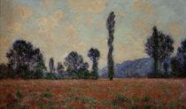 C.Monet, Mohnfeld von AKG  Images